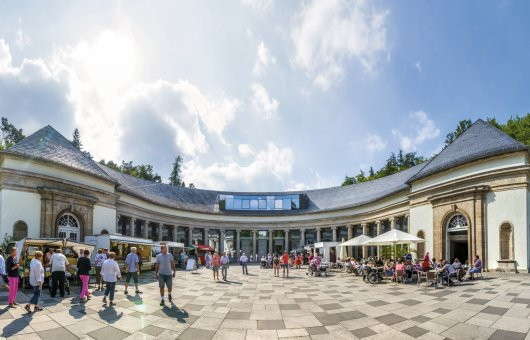 Wandelhalle in Bad Wildungen © pure-life-pictures-fotolia.com